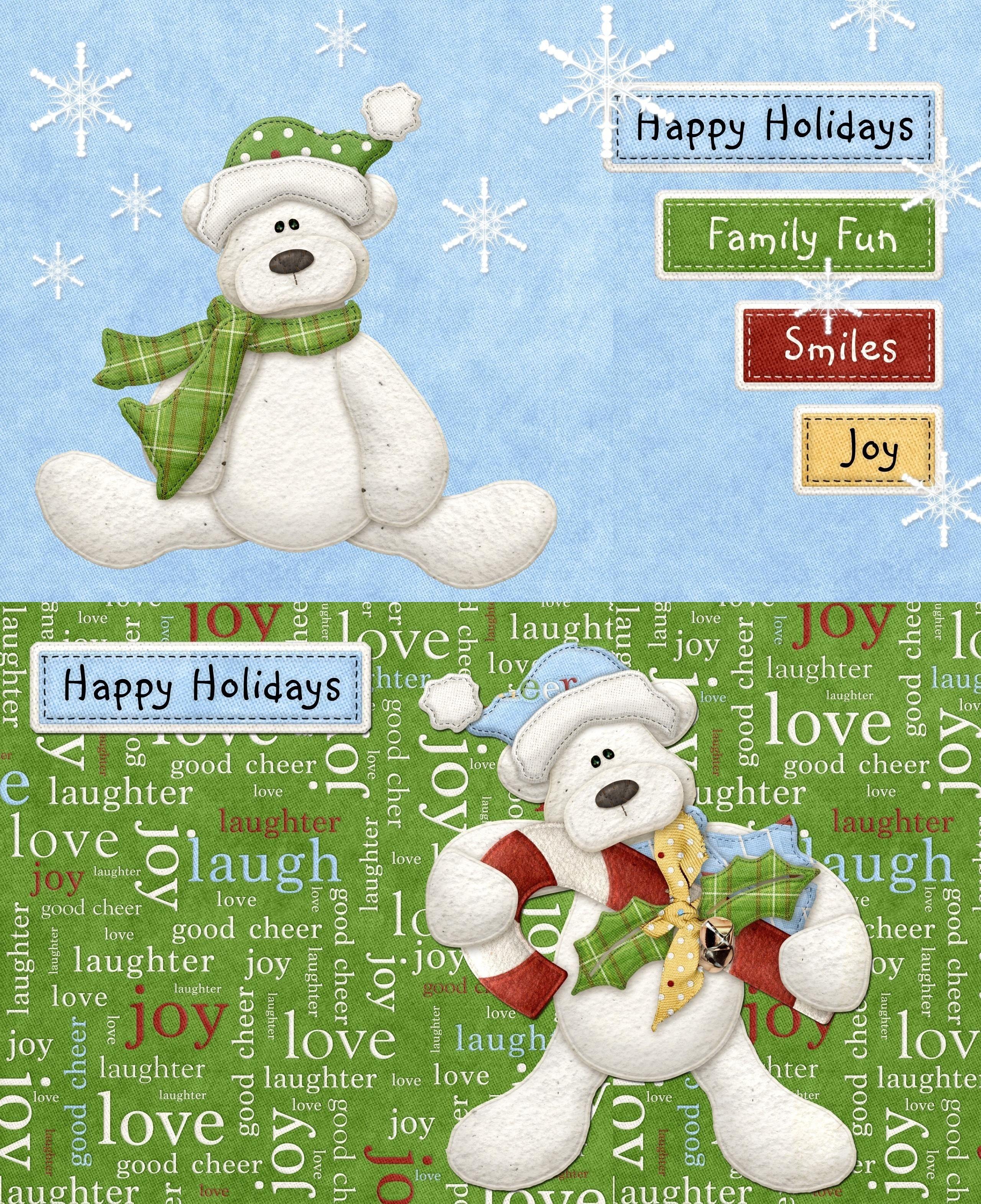 Happy Holidays Phone Desktop Wallpaper Backgrounds Pinterest