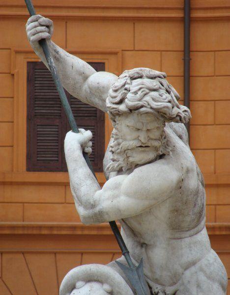 Fontana di Nettuno, Piazza Navona