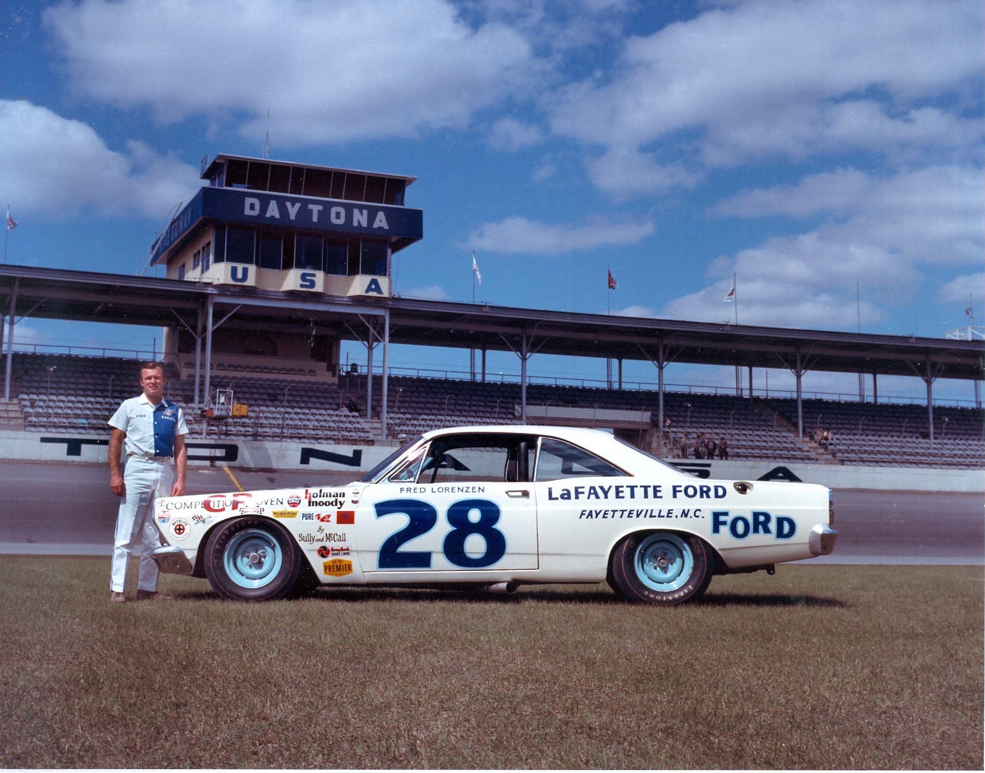 Fred Lorenzen 1966 Nascar Cars Ford Fairlane Nascar Race Cars