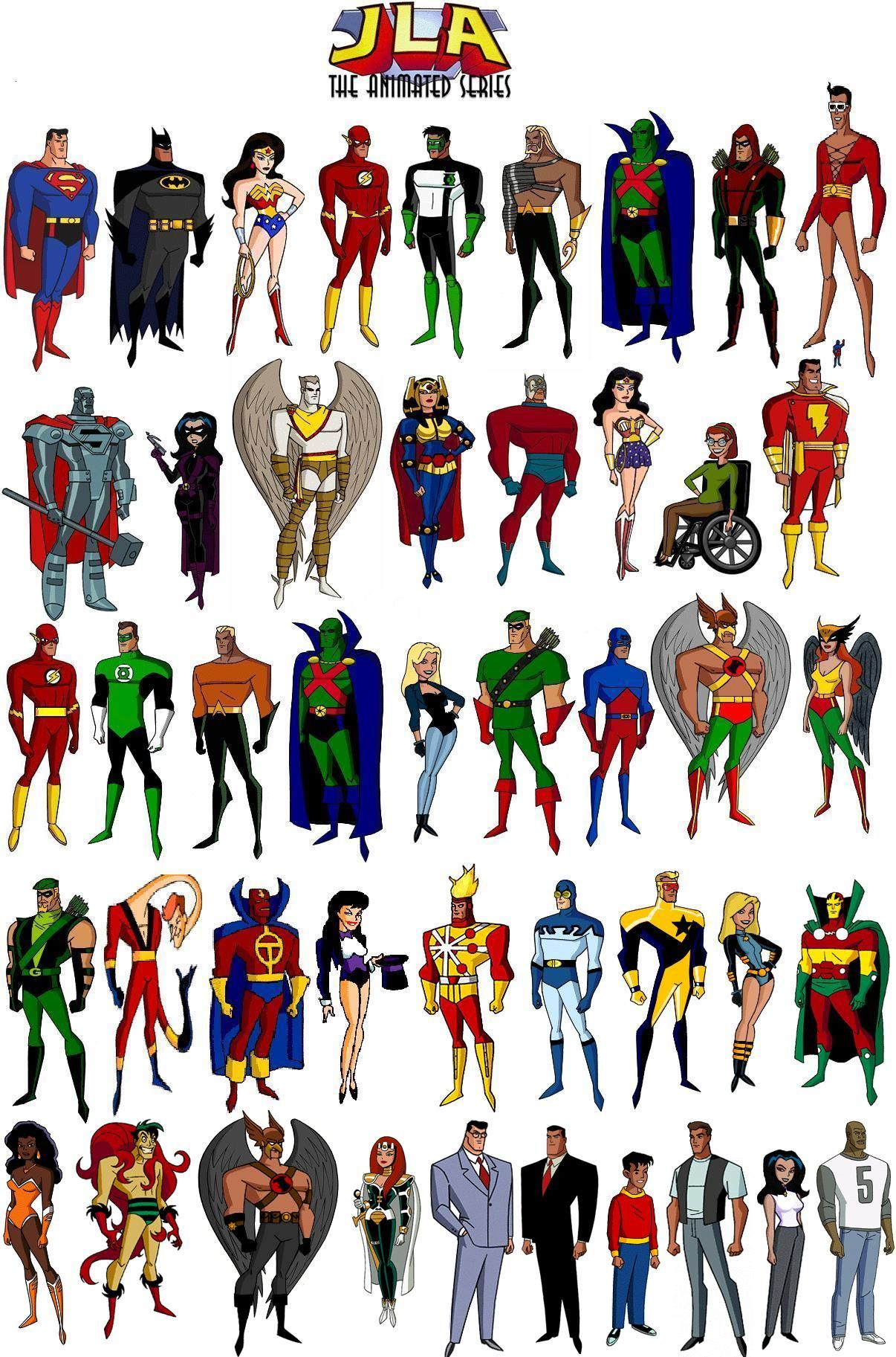 JUSTICE LEAGUE UNLIMITED by Alexander514 on DeviantArt |Justice League Unlimited Characters