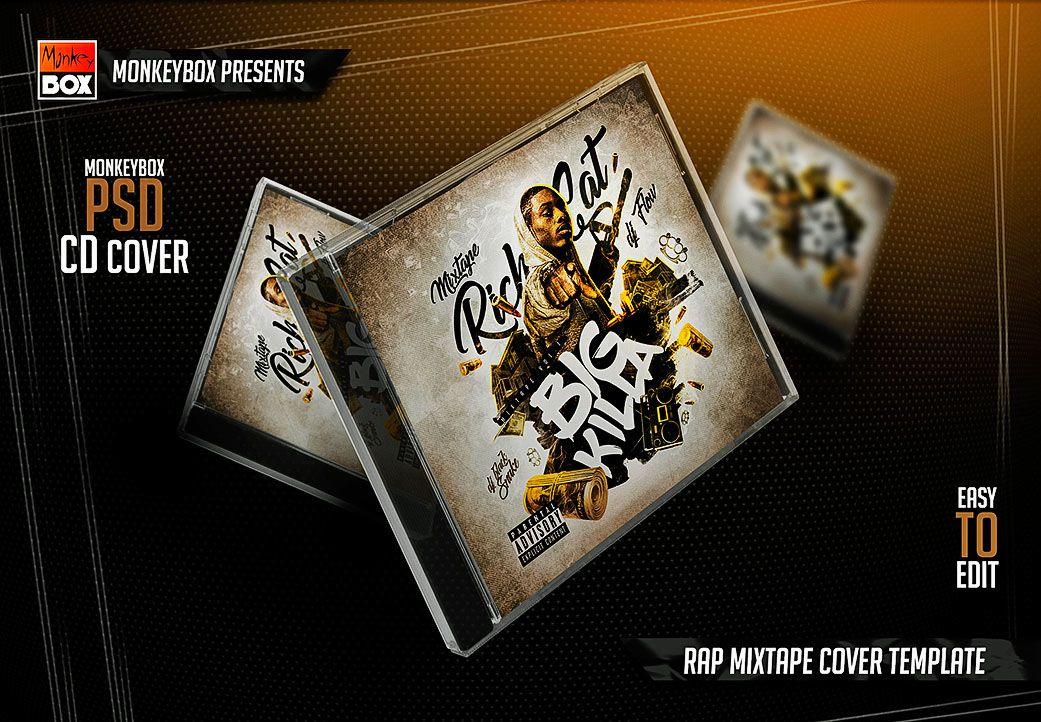 Ознакомьтесь с этим проектом Behance «Rap Mixtape Cover