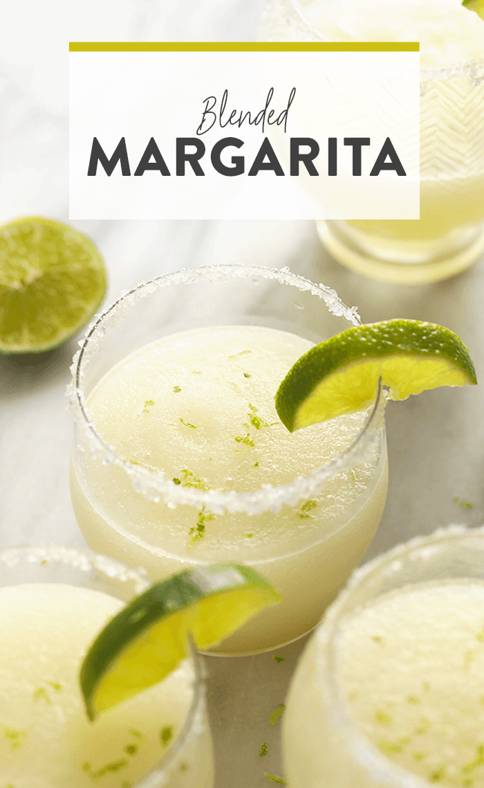 Best Frozen Margarita Recipe {+ Video} - Fit Foodie Finds