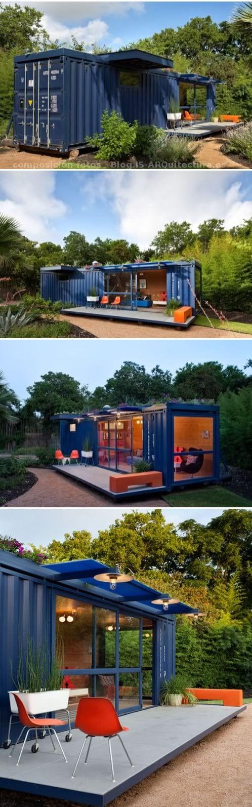 backyard structure  art studios & guest cottages  Pinterest  콘테이너 하우스 ...
