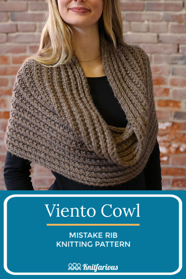 Free Cowl Knitting Patterns for Beginners | Easy scarf ...