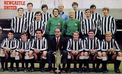 a4bd81e14bc 1969 Inter Cities Fairs Cup Winners Newcastle United Fc, Newcastle United  Football, North East