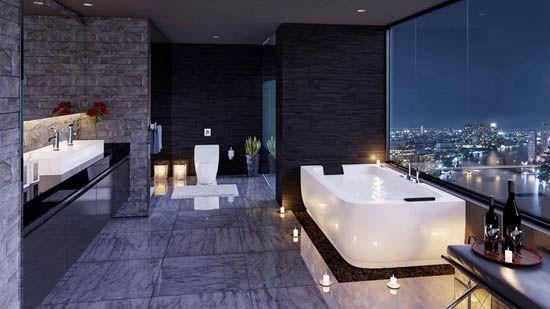 Une salle de bain luxueuse en six inspirations House