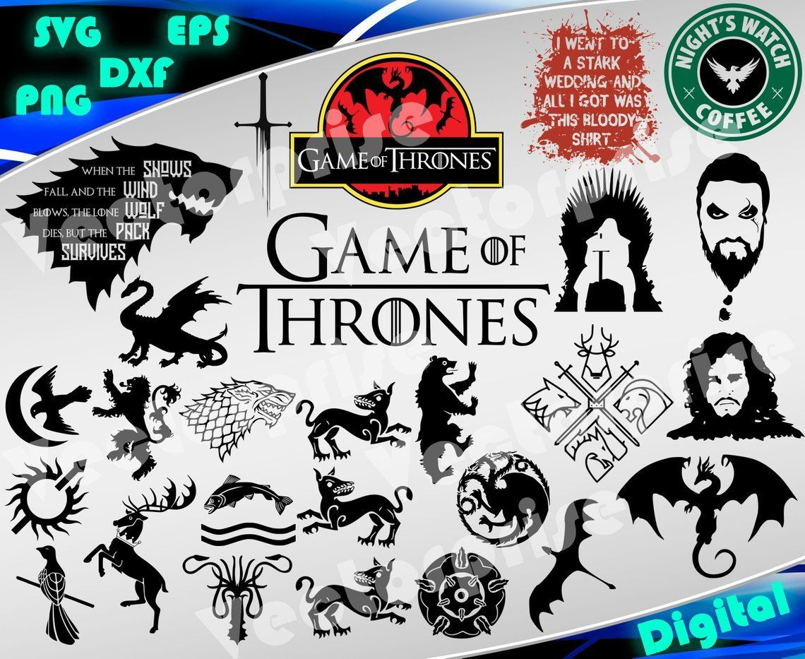 Pin on Game of Thrones svg Game of Thrones clipart