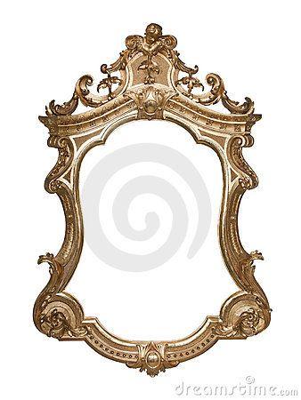 Ornate vintage frame by Jakub Krechowicz, via Dreamstime   party 2 ...