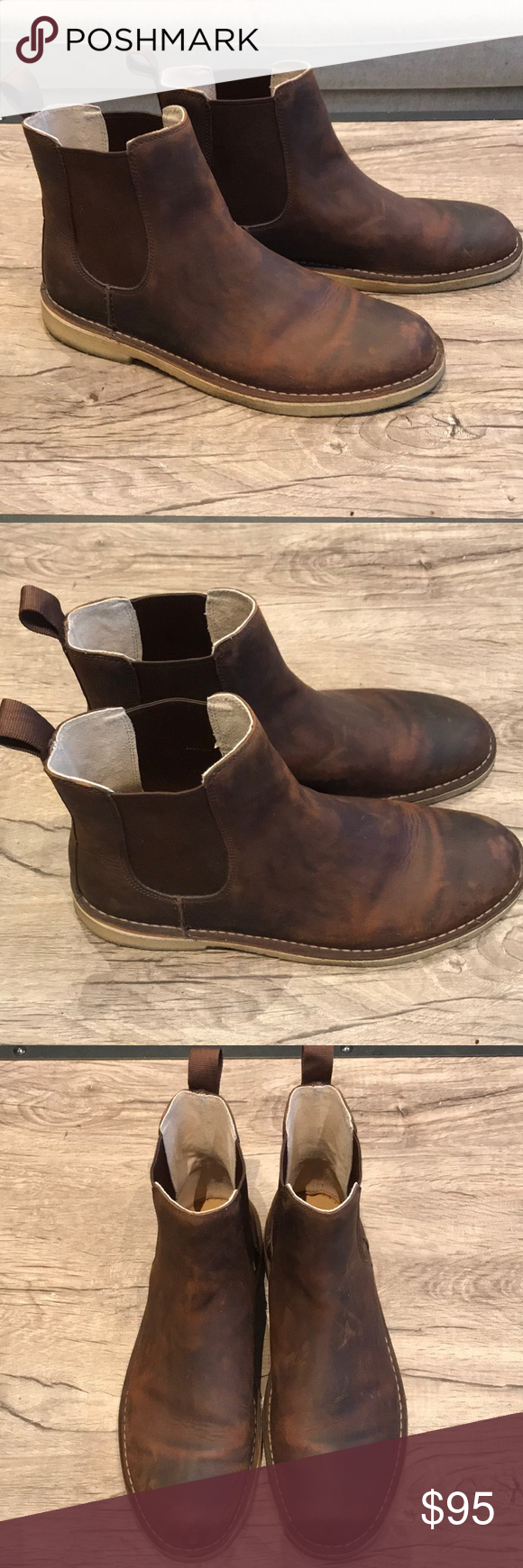 f114e8e9bfa Clark's Desert Peak Men's Boots - Size 13 Clark's Desert Peak Men's ...