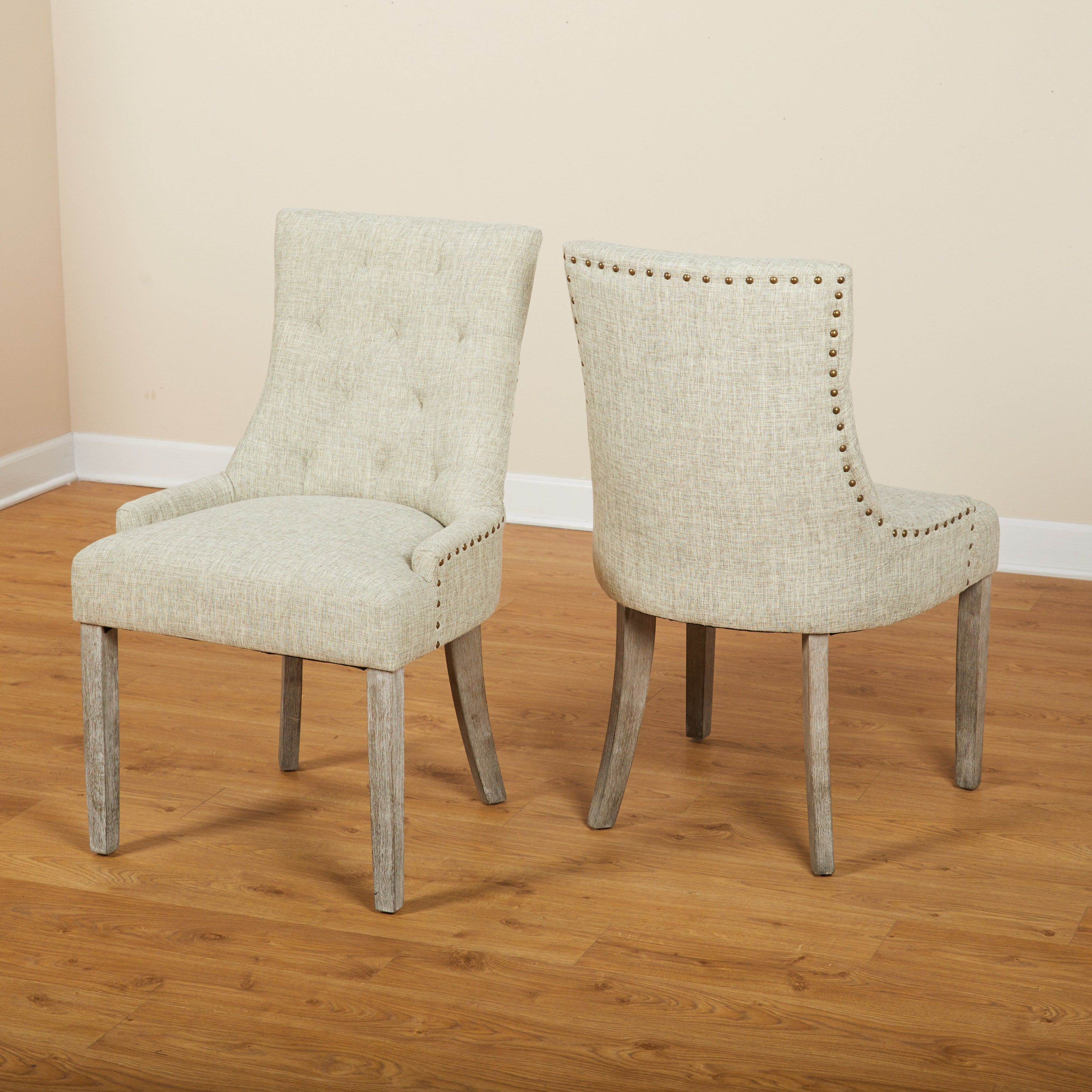 angelo:home ariane parson dining chair (set of 2)   overstock