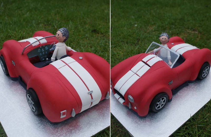 3D Cobra Car Cake by Verusca on deviantART Novelty Car
