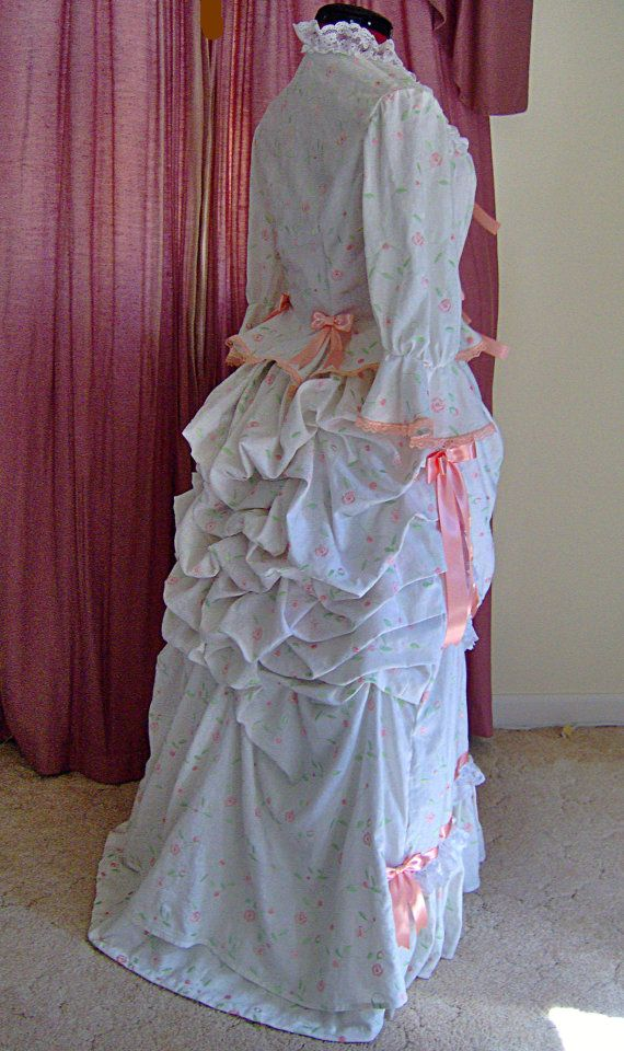 FOR ORDERS ONLY Custom Made 1800s Victorian Dress
