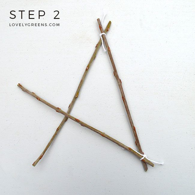 How to make a Simple Twig Star #twigcrafts