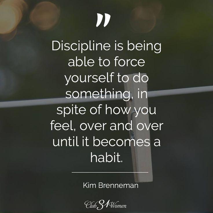 Self Motivated Quotes: Discipline Quotes, Habit