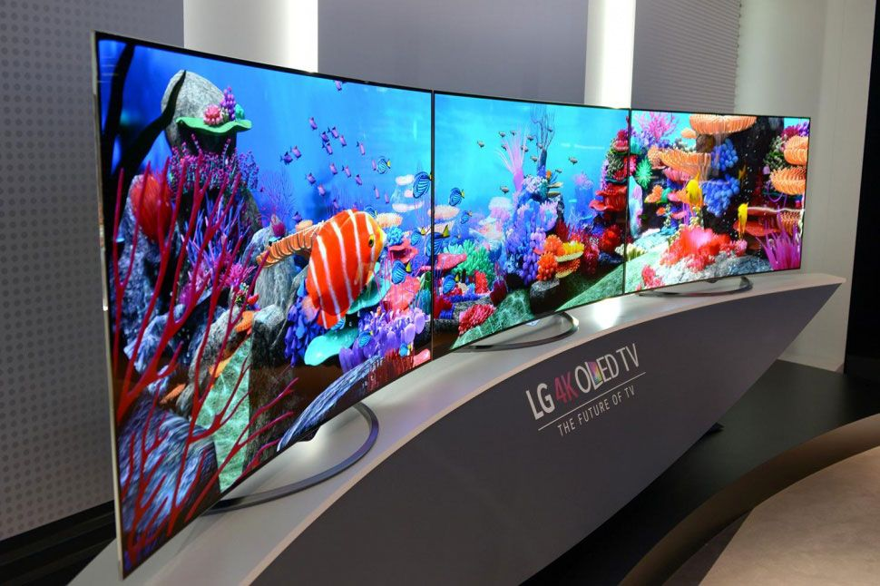 "4000k 60"" Curved TV Monitors Tvs, Flexible oled, Lg oled"