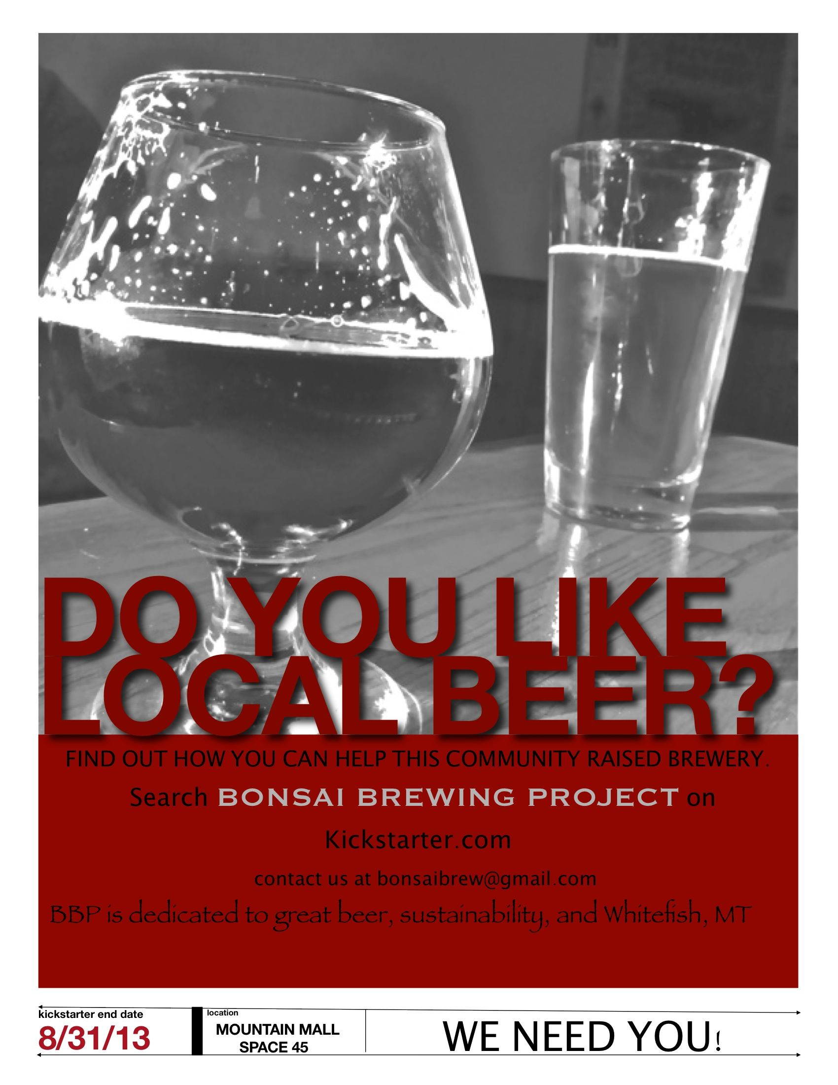 Coming Soon Bonsai Brewing Project In Whitefish Mt See How You Can Help This Community Raised Brewery Bonsai Brewing Proje Brewery Beer Accessories Brewing