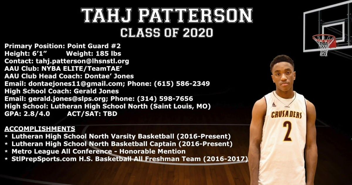 CoachTube Presents Tahj Patterson Basketball College