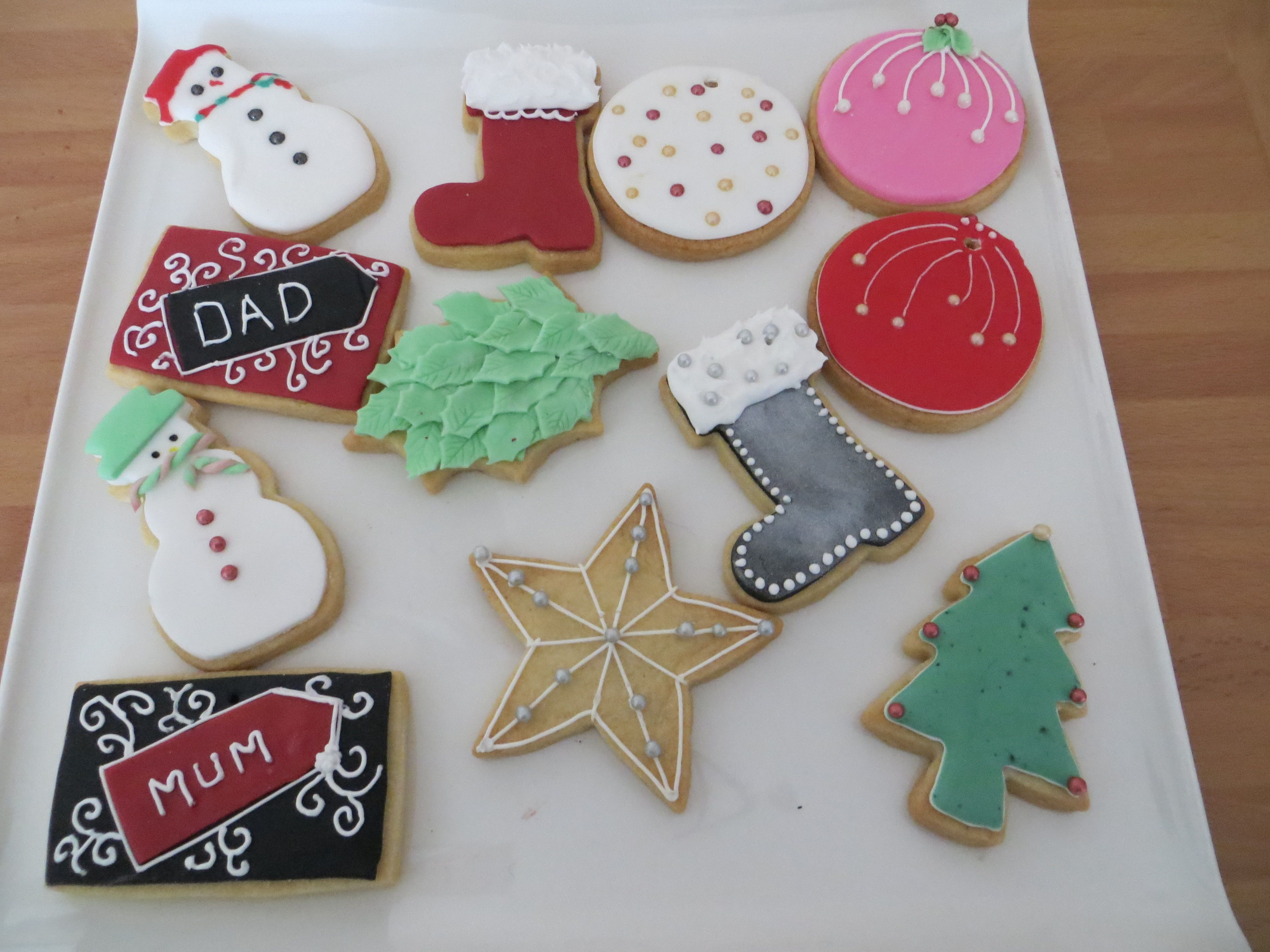 A Selection Of Our Christmas Biscuits Starting From 250