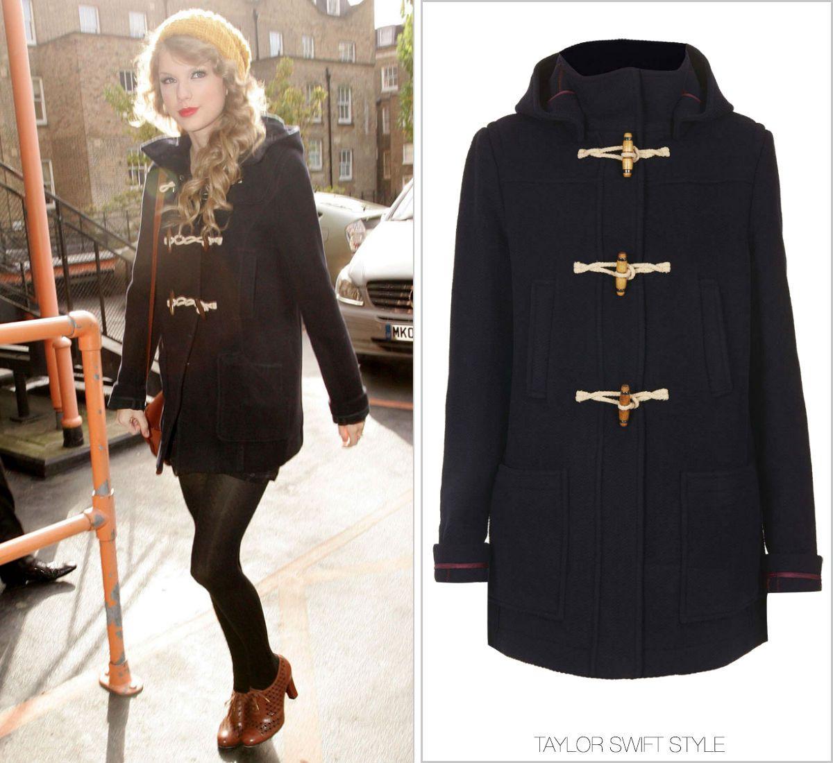 GET THE LOOK: Topshop 'Wool Hooded Duffle Coat' - $150.28 | Get ...