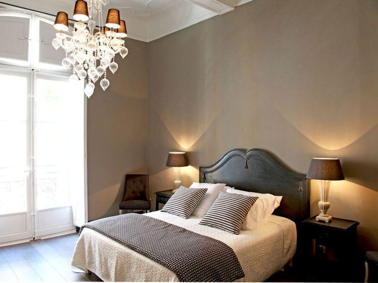 Ma chambre comme l 39 h tel chambres couleur mur et la croisette for Deco chambre a coucher cosy