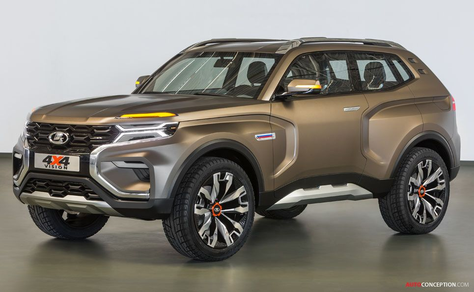 Lada 4x4 Vision Concept Car Revealed In Moscow Autoconception