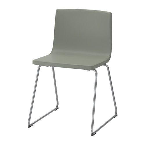 Ikea esszimmerstühle leder  BERNHARD Stuhl, verchromt, Mjuk grün | Das schönste, Federn und Stuhl