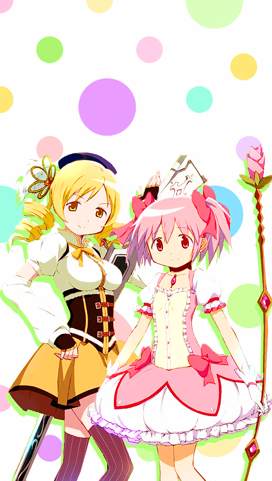 Madoka Magica Wallpapers Tumblr Mahō Shōjo Madoka Magica Madoka Magica Magical Girl Anime