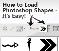 Load font into photoshop
