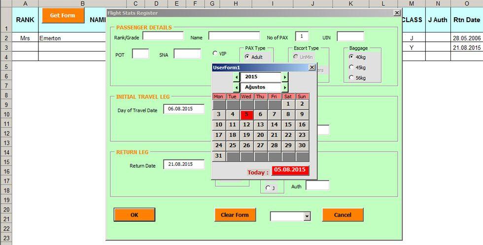 Flight Stats Userform Excel Tutorials Invoice Format In Excel Excel Hacks