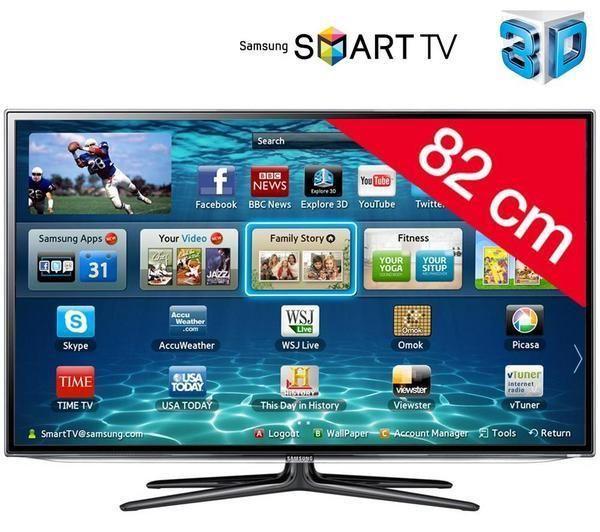 484 90 samsung televiseur led smart tv
