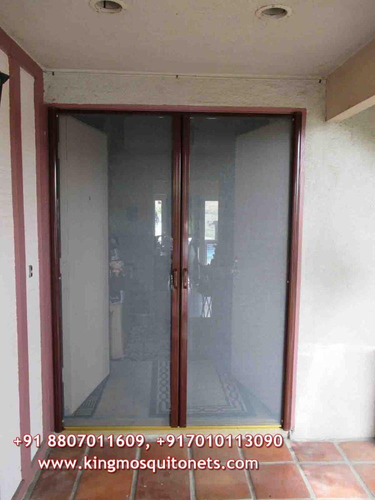 Mosquito Net For Doors In 2020 Retractable Screen Door Retractable Screen Locker Storage