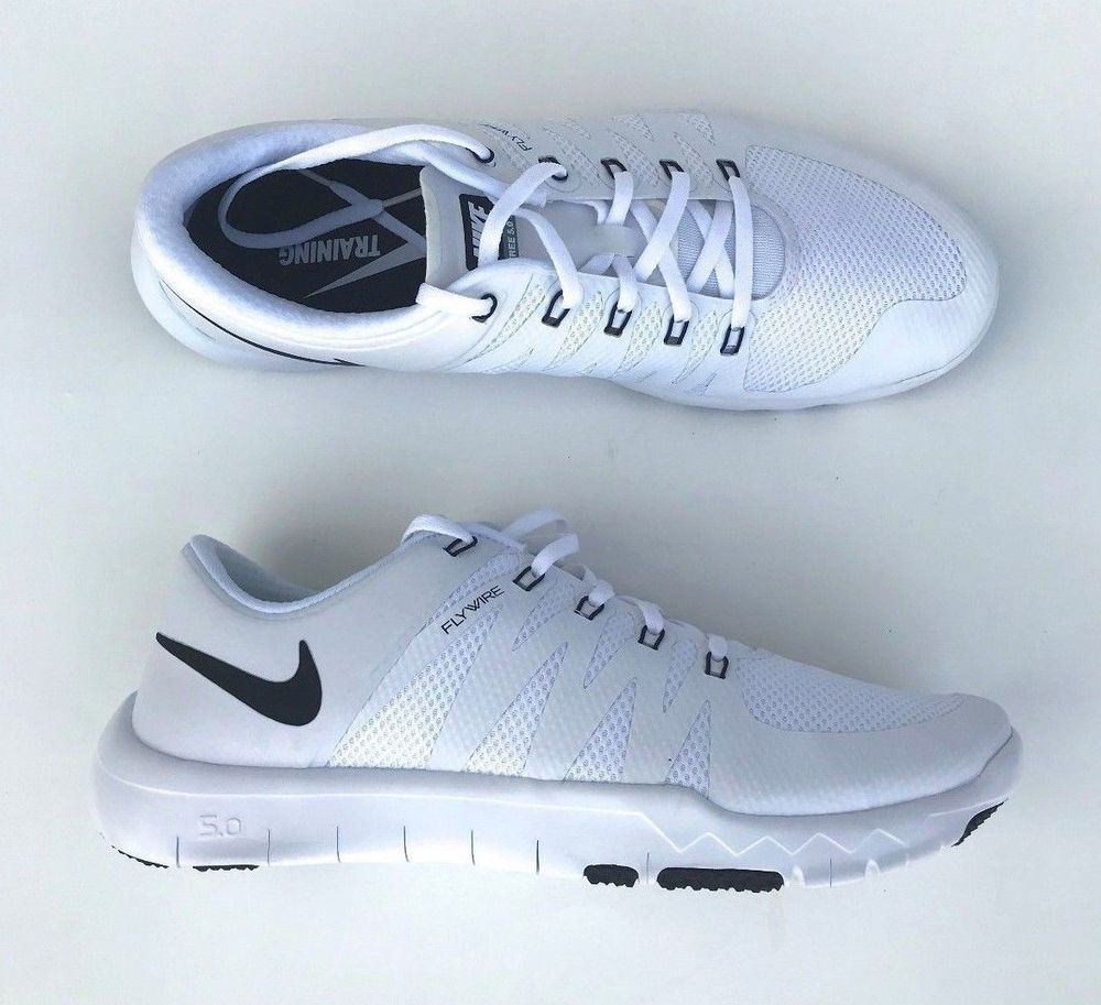 reputable site ace0a d85ec Nike Free Trainer 5.0 V6 TB 723987-100 White Size 13  fashion  clothing