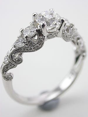 3930198bf gorgeous brilliant wedding ring multiple diamonds intricate delicate best  round stone
