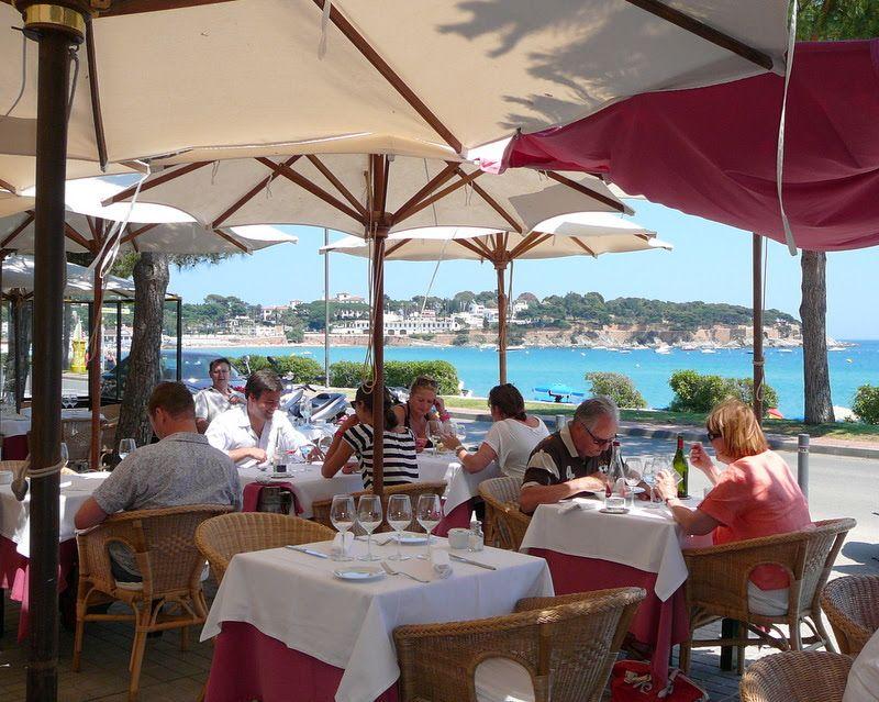 Villa Mas Restaurant S Agaro Www Restaurantvillamas Com