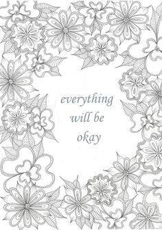 Sorry For Your Loss Coloring Pages By beauty that moves
