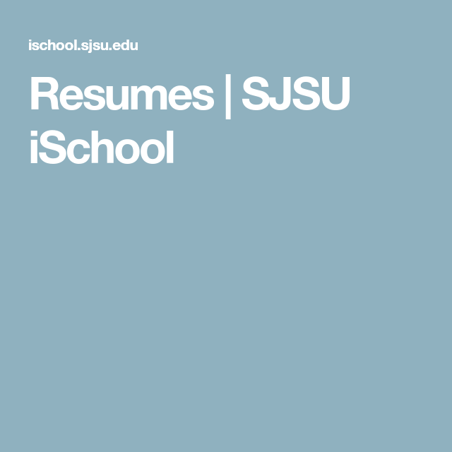 sjsu cover letter - Vatoz.atozdevelopment.co