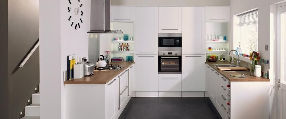 Kitchen Ideas Howdens howden burford white kitchen range | kitchens | pinterest