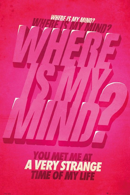 Film Quotes - Where is my Mind