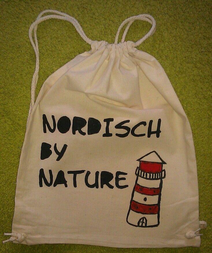 Turnbeutel. Nordisch. Lighthouse.