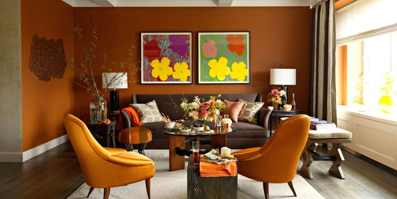 14 Best Orange Paints For The Perfect Pop Of Color Living Room Orange Burnt Orange Living Room Orange Living Room Paint #orange #living #room #paint