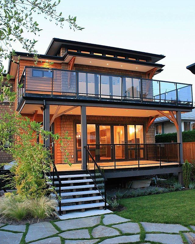 North Vancouver British Columbia 425e 16th St Residence Designed By Halex Architecture Hale Wooden House Design House With Balcony House Designs Exterior