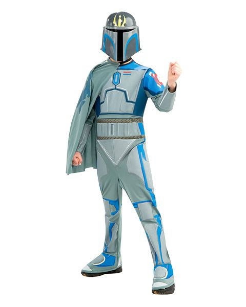 Pre Vizsla Costume Kids Star Wars Halloween Fancy Dress