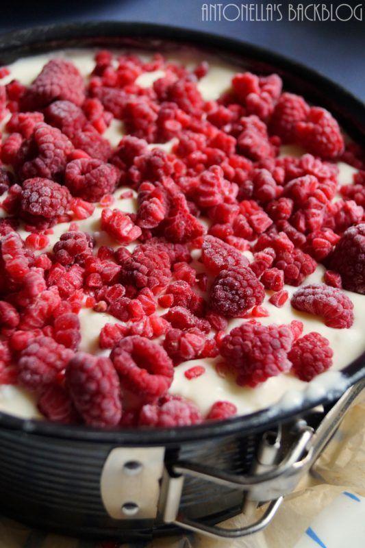 HimbeerCheesecake - Cremig & Fruchtig - Antonella's Backblog
