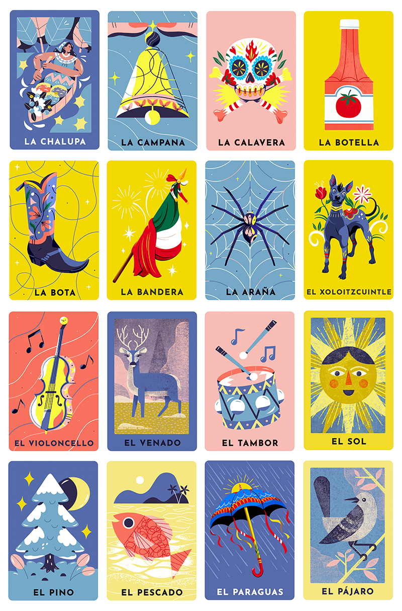 Celebrating Lotería! in 2020 Loteria cards, Doodles, Loteria