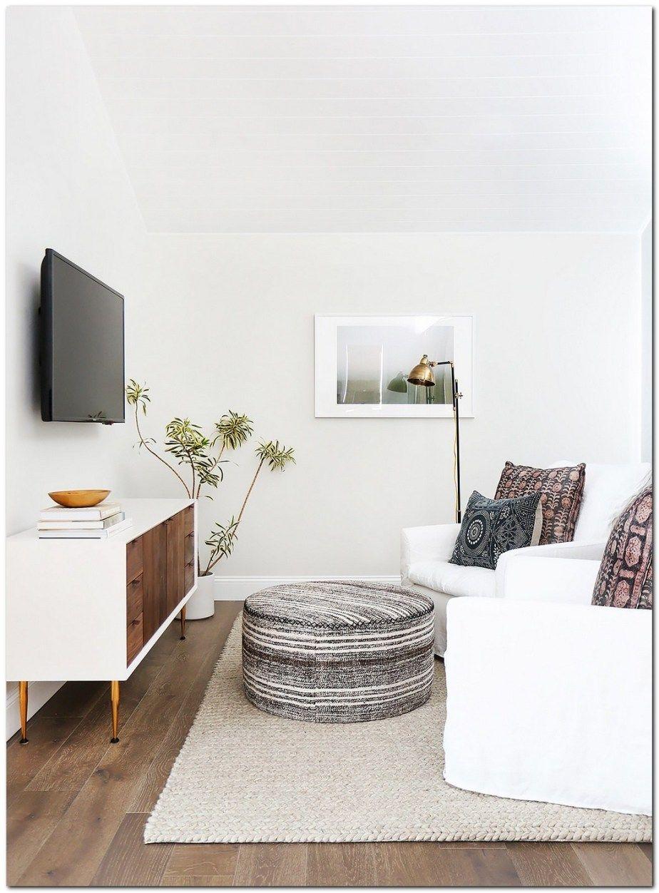 Living Room Tv Setups: Minimalist Living Room, Small Tv