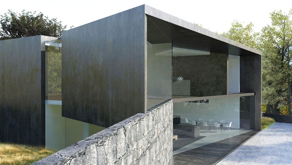Architect Pierre Minassian Architecture And Contemporary House Maison Architecte Exterieurs De Maison Moderne Architecte Francais
