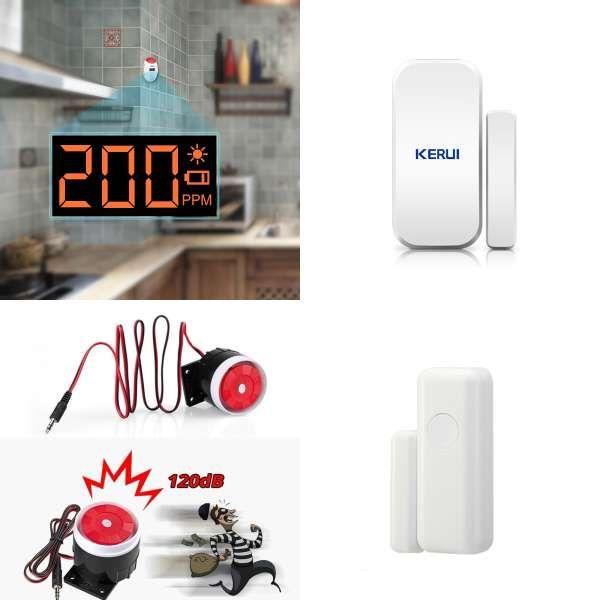 Carbon Monoxide Detectors Marlboze Sound And Light Co Sensor Lcd Photoelectric Home Security Independent Carbon Monoxide Poisoning Alarm Detector 85db A Great Variety Of Goods