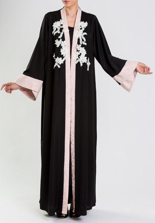 Abaya Designs And Ready To Wear Collections From Effa Dubai Uae Abaya Designs Abaya Fashion Abaya