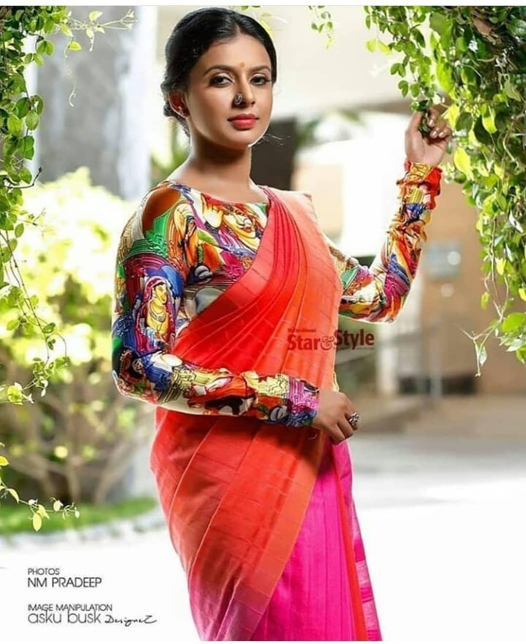സിത്താര കൃഷ്ണകുമാർ #sithara #sitharakrishnakumar #cinetimesmedia #cinetimes #singer #model #photoshoot #g…   Saree styles, Beautiful indian actress, Saree designs
