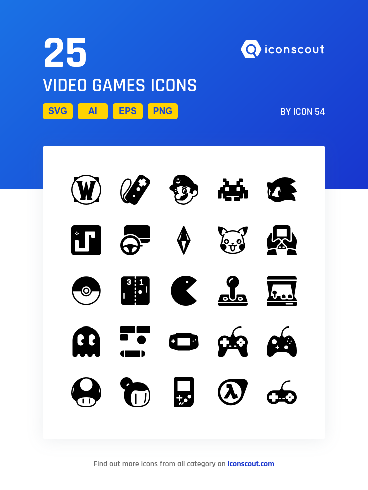 Download Download Video Games Icon pack - Available in SVG, PNG ...